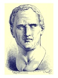 Cicero, Illustration from 'History of Rome' by Victor Duruy, Published 1884 Giclee Print by P. Sellier