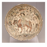Mina'I Bowl, Early 13th Century (White Glazed Composite Body with Overglazed Decoration) Giclee Print by  Persian