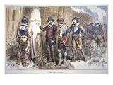 The Lost Colony of Roanoke (Colour Litho) Giclee Print by  American