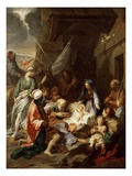 Adoration of the Magi, 1700/10 (Oil on Canvas) Giclee Print by Jean-Baptiste Jouvenet