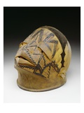 Helmet, Makonde, 19th-20th Century (Wood, Wax and Fibre) Impression giclée par  African