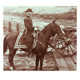 General William T. Sherman (1820-91) in Atlanta, Ga (B/W Photo) Giclee Print by Mathew Brady