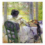 The Milliner, C.1909 (Oil on Canvas) Giclee Print by Richard Edward Miller