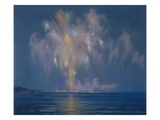 The Grand Finale, Late 19th-Early 20th Century (Pastel on Paper) Giclee Print by Lendall Pitts