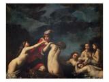 Hylas and the Naiads Giclée-tryk af Francesco Furini