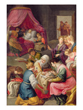 The Birth of the Virgin, 1640 Giclee Print by Jusepe Or Jose Leonardo