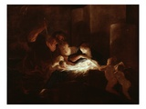 The Nativity Giclee Print by Pierre Louis Cretey Or Cretet