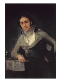 Portrait of a Man Presumed to Be Don Evaristo Perez De Castro Giclee Print by Francisco de Goya