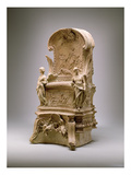 Chair of St. Peter, 1658 (Terracotta) Giclée-tryk af Giovanni Lorenzo Bernini