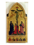 The Crucifixion with Mourners and St. Mary Magdalene Giclee Print by Nardo Di Cione Orcagna