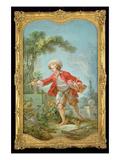 The Gardener, 1754/55 Giclée-Druck von Jean-Honore Fragonard