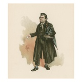 Mr Whackford Squeers, Illustration from 'Character Sketches from Charles Dickens', C.1890 Giclee Print by Joseph Clayton Clarke