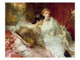 After the Ball Premium Giclee Print by Conrad Kiesel