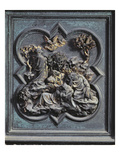 Agony in the Garden, Thirteenth Panel of the North Doors of the Baptistery of San Giovanni, 1403-24 Giclee Print by Lorenzo Ghiberti