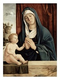 Madonna and Child, Late 15th to Early 16th Century (Oil on Wood Panel) Giclee Print by Giovanni Battista Cima Da Conegliano
