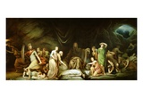 The Court of Death, 1820 Premium Giclee Print by Rembrandt Peale