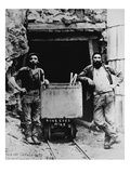 The Last Chance Mine, California, 1882 (B/W Photo) Giclee Print by  American Photographer