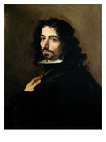 Self Portrait, C.1665 (Oil on Canvas) Giclee Print by Luca Giordano
