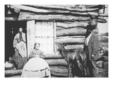 American Pioneer, Clear Creek, Kansas, 1867 (B/W Photo) Giclee Print by  American Photographer