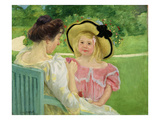 In the Garden, 1903/04 Reproduction procédé giclée par Mary Cassatt