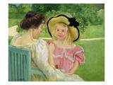 In the Garden, 1903/04 Premium Giclee Print by Mary Cassatt