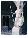 The Goddess Athena, from the Main Courtyard of the Casa De Pilatos, Sevilla (Photo) Giclee Print