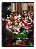 The Circumcision, C.1523 (Oil on Panel) Giclee Print by  Parmigianino