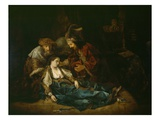The Death of Lucretia, Mid 1640S Giclee Print by  Rembrandt van Rijn