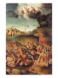 The Martyrdom of the Ten Thousand, 1529-30 (Panel) Giclee Print by Jacopo Pontormo