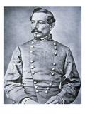 Portrait of Brigadier General P.G.T. Beauregard (1818-93) (Litho) Impression giclée par  American Photographer