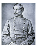 Portrait of Brigadier General P.G.T. Beauregard (1818-93) (Litho) Giclee Print by  American Photographer