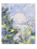 Mont Sainte-Victoire, c.1904-06 Premium Giclee Print by Paul Cézanne