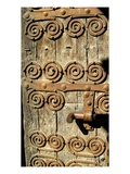 Detail of the Church Door (Photo) Giclee Print