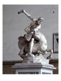 Hercules Killing the Centaur (Marble) (See also 353893-4) Giclee Print by  Giambologna
