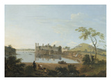 Caernarvon Castle, C.1744 (Oil on Canvas) Reproduction procédé giclée par Richard Wilson