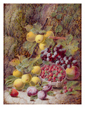 Still Life with Fruit Giclee Print by Oliver Clare