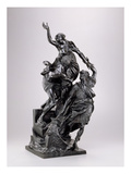 The Abduction of Helen, 1680-90 (Bronze) Giclee Print by Pierre Puget