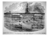 Infernal Machine Designed by the Confederates to Destroy the Federal Flotilla in the Potomac Giclee Print by  American