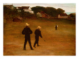 The Ball Players, 1871 Giclee Print by William Morris Hunt
