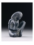 Seated Scribe (Graywacke) Giclee Print by  Egyptian 18th Dynasty