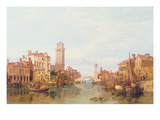 A View of Verona, 1848 Giclee Print by George Clarkson Stanfield