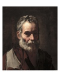 An Old Man, C.1635 (Oil on Canvas) Giclee Print by Jusepe de Ribera