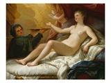 Danae, c.1705/15 Giclee Print by Paolo Di Matteis