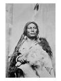 Chief Gall (C.1840-94) (B/W Photo) Giclee Print by  American Photographer