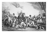 Battle of Princeton, 3 January 1777 (Litho) Giclee Print by  American
