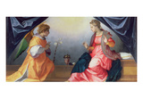 Annunciation Giclee Print by Andrea del Sarto