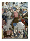 The Legend of the True Cross, the Battle of Heraclius and Chosroes, Completed 1464 (Detail) Giclee Print by  Francesca