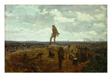Defiance: Inviting a Shot before Petersburg, 1864 (Oil on Panel) Giclee Print by Winslow Homer