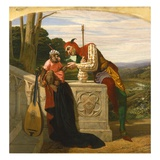 Staunch Friends, 1859 Giclee Print by William Frederick Yeames