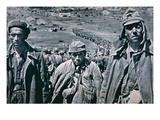 Russian Pows Captured by the Germans, 1941 (B/W Photo) Giclee Print by  German photographer